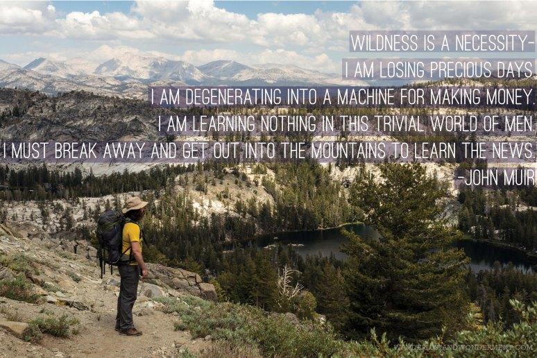 Ten Lakes Wilderness, Yosemite